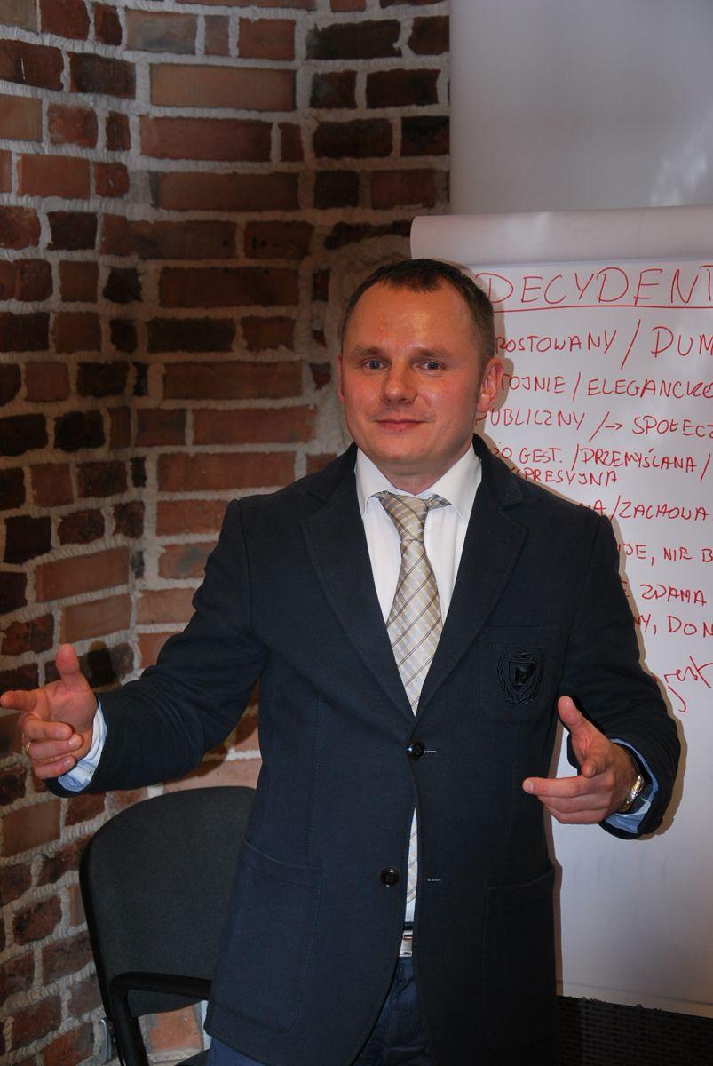Sławomir Młynaczyk - trener sprzedaży